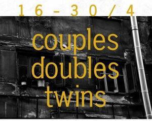 Couple Double Twins. Φωτογραφική έκθεση της Αντιγόνης Κολοβέντζου | Σπίτι Art Bar