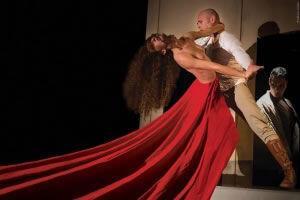 Δεσποινίς Τζούλια σε Flamenco | Θέατρο Άνεσις
