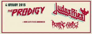 Rockwave Festival 2015: Prodigy, Judas Priest & Rotting Christ στο Terra Vibe!